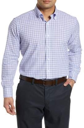 Peter Millar Summer Chambray Check Shirt