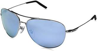 Revo Unisex RE 1022 Windspeed II Aviator Global Fit Polarized Sunglasses