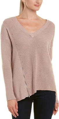 Matty M Asymmetric Wool Sweater