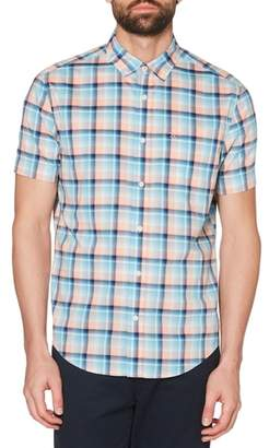 Original Penguin P55 Plaid Woven Shirt