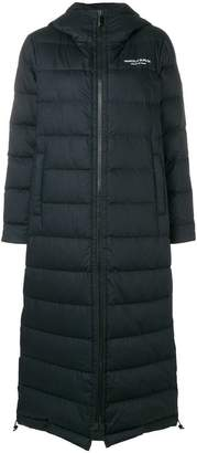 Marcelo Burlon County of Milan long puffer coat