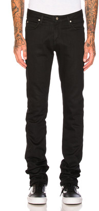 Naked & Famous Denim Skinny Guy Black Power Stretch