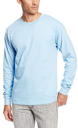 Hanes Men's Long-Sleeve Beefy-T Shirt (Pack of 2)