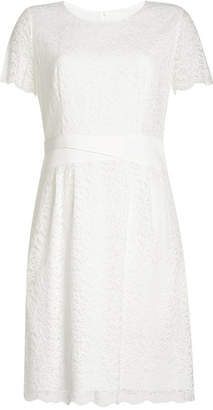 HUGO Lace Dress with Cotton