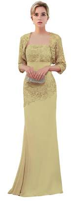 MaliaDress Women's Mother of Bride Evening Party Dress with Shawl M263LF US