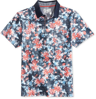Retrofit Men's Floral Polo $30 thestylecure.com