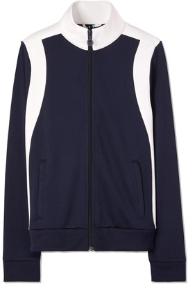 Tory Sport COLOR-BLOCK TRACK JACKET