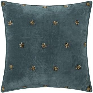 Joanna Buchanan Embroidered Velvet Star Cushion