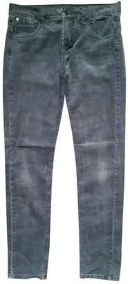 Roseanna Grey Velvet Trousers