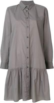 Lareida button-up shirt dress