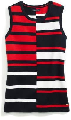 Tommy Hilfiger Signature Stripe Sleeveless Top