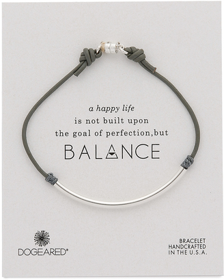 Dogeared Balance Tube Bracelet $38 thestylecure.com