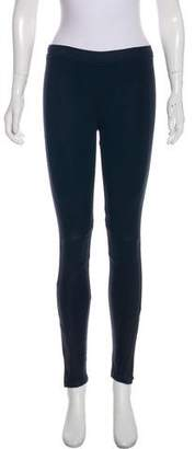 David Lerner Mid-Rise Skinny Leggings