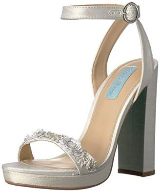 Betsey Johnson Blue by Women's Sb-Laken Platform Dress Sandal