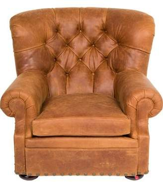 Pre Owned At TheRealReal · Ralph Lauren Leather Writeru0027s Chair