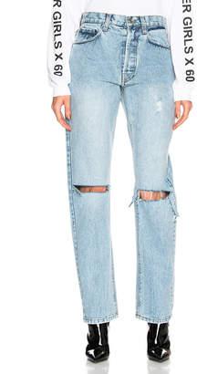 Miss Sixty Palmer Girls X Mom Jeans