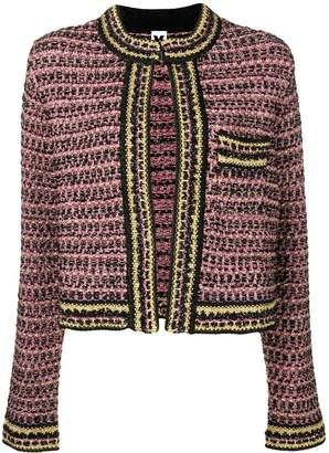 M Missoni classic tweed jacket