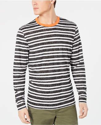 American Rag Men Long Sleeved Striped Ringer Tee