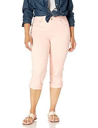 NYDJ Women's Size Plus Marilyn Crop Cuff Jean,W