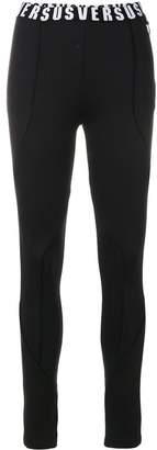 Versus branded waistband leggings