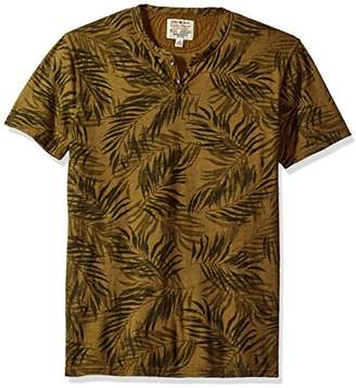 Lucky Brand Men's Novelty Notch Neck Top