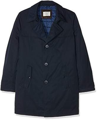 Benvenuto Men's Trench Jacket - Blue