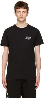 Off-White Black 'Off' T-Shirt $255 thestylecure.com