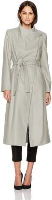Kenneth Cole New York Kenneth Cole Women's Belted Wool Maxi