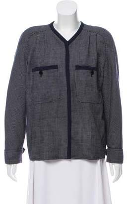 Valentino Polka Dot Wool Jacket