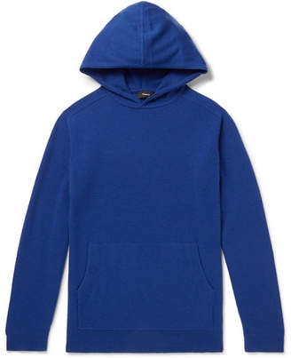 Theory Alcos Cashmere Hoodie - Blue