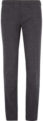 Incotex Slim-Fit Birdseye Cotton Trousers