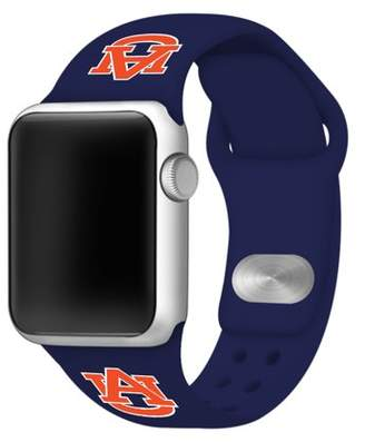 Affinity Bands Auburn Tigers 42mm Silicone Sport Band for Apple Watch - Navy
