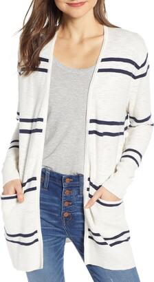 Madewell Stripe Summer Ryder Cardigan Sweater