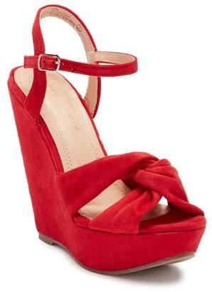 Chloé Chase & Gita Wedge Platform Sandal