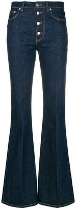Sonia Rykiel high waisted flared jeans