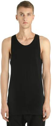 Diesel Black Gold Cotton Jersey Tank Top