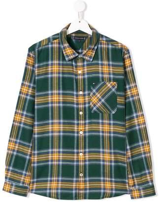 Tommy Hilfiger Junior TEEN check shirt