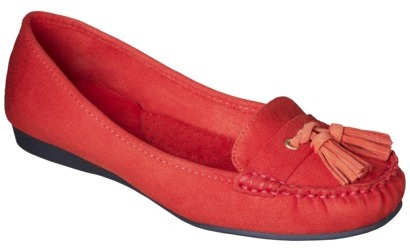 Merona Women's Mabli Moccasin Loafers - Burnt Ochre