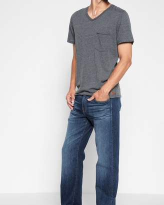 7 For All Mankind Austyn Relaxed Straight with Squiggle and Split Seam in Dimension
