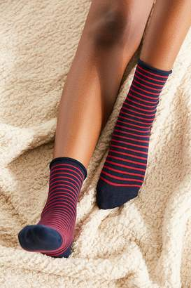 Hansel from Basel Nautical Striped Crew Sock