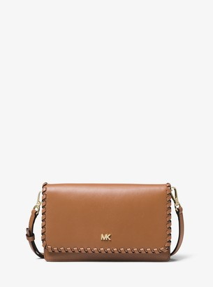 MICHAEL Michael Kors Whipstitched Leather Convertible Crossbody