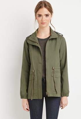 FOREVER 21+ Classic Utility Jacket $29.90 thestylecure.com