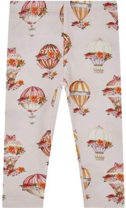 MonnaLisa Hot Air Balloon Print Leggings