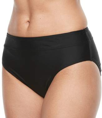 Croft & Barrow Women's Midrise Scoop Bikini Bottoms