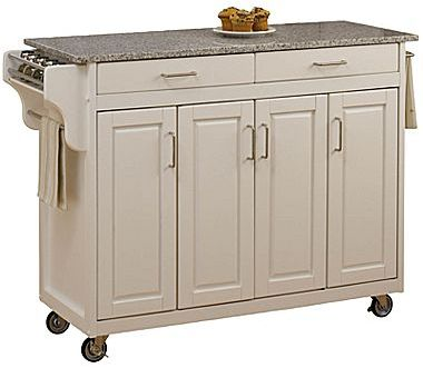 JCPenney Create-Your-Own Large Rolling Kitchen Cart with Towel Rack