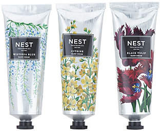 NEST Fragrances 3-Piece Luxury Hand CreamCollection