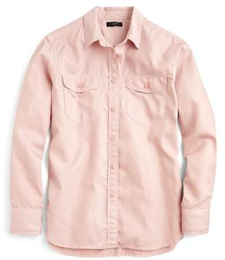 J.Crew Boyfriend Utility Shirt