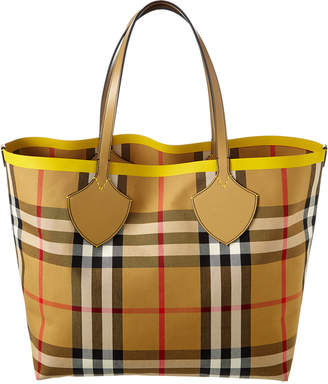9db7514ea Burberry Large Giant Block Check Tote