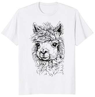 No Prob Llama T-Shirt Funny Gift No Drama Alpaca Lammacorn