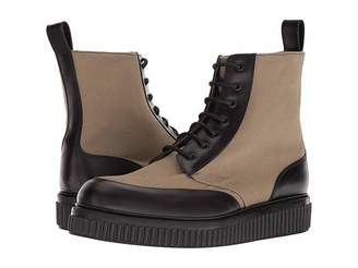 Paul Andrew Aiden Canvas Leather Boot